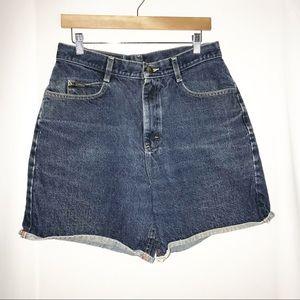 Riders Denim Shorts Size 14 Med